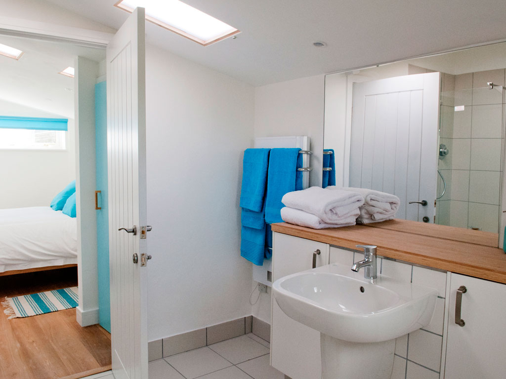 Bathroom at Blue Beyond Cottage Tiree
