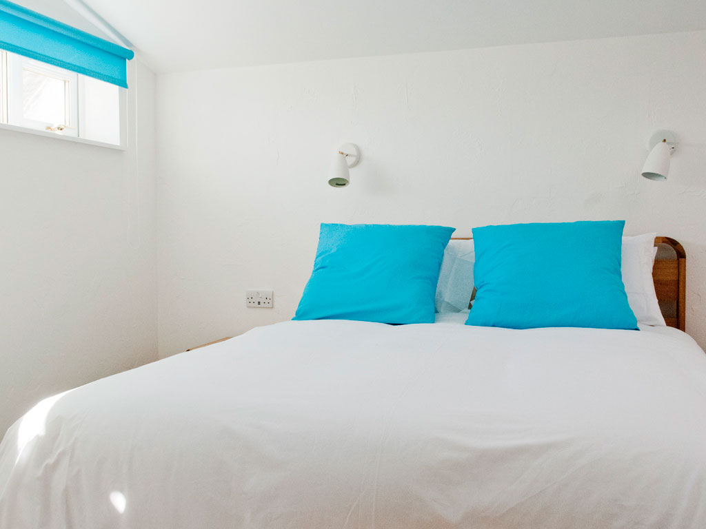 bedroom at Blue Beyond Cottage Tiree
