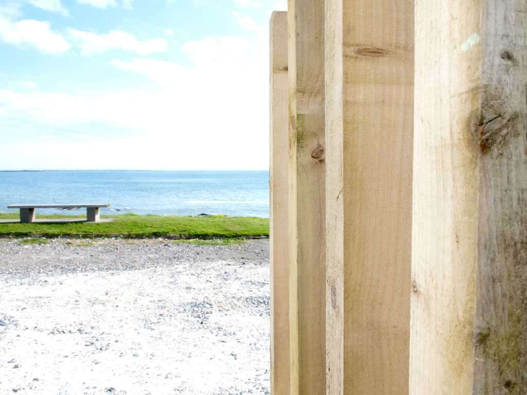 looking east from Blue Beyond Cottage Tiree